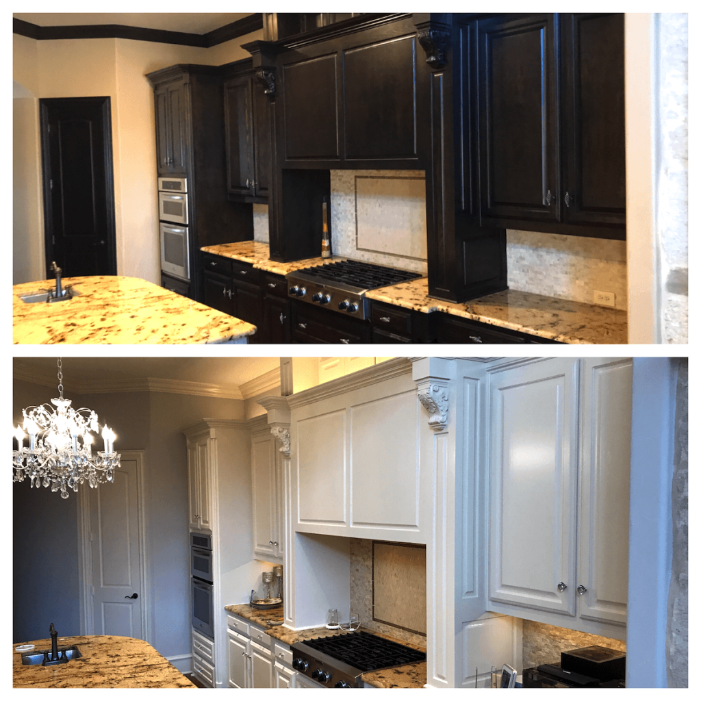 Kitchen cabinet painting - The Correct Method - Plasters of ...